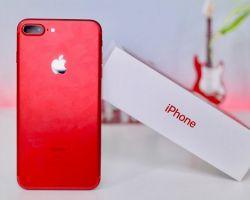 Подробный обзор Айфона 7 в красном цвете