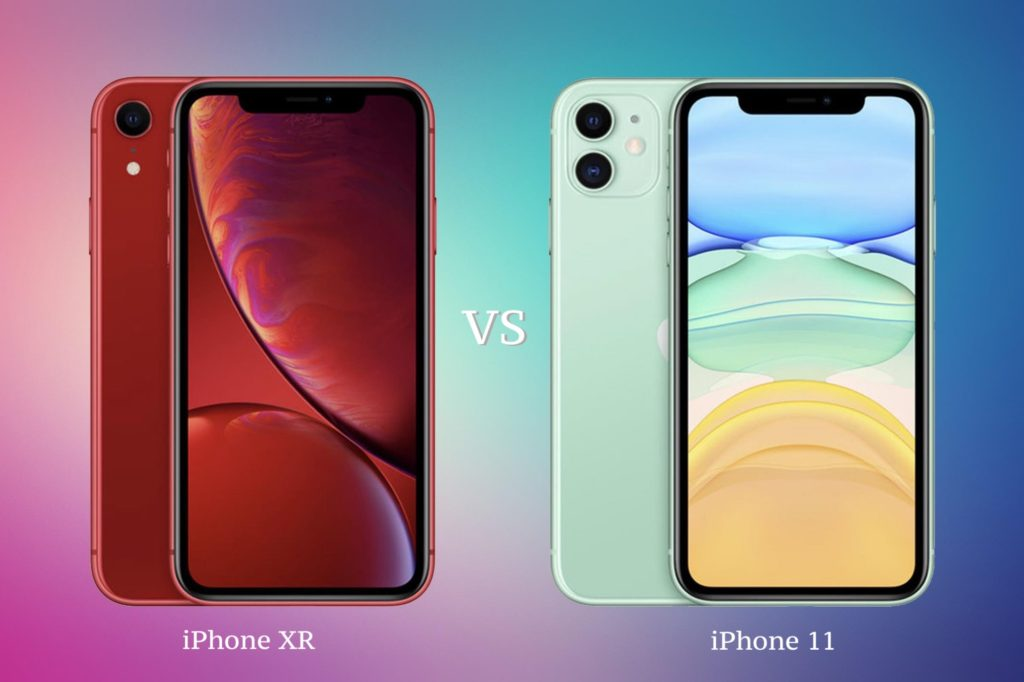 iPhone XR VS iPhone 11